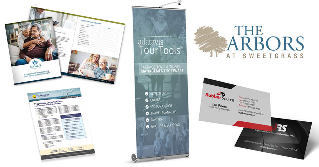 graphic design services for the arbors