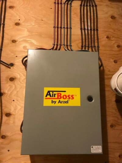 An Airboss HVAC zoning system installed by Arzel Zoning