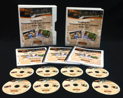 A dvd set for bus driving school