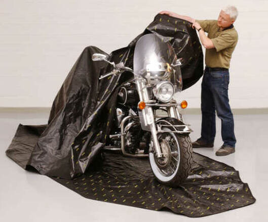 motorcycle storage rust prevention
