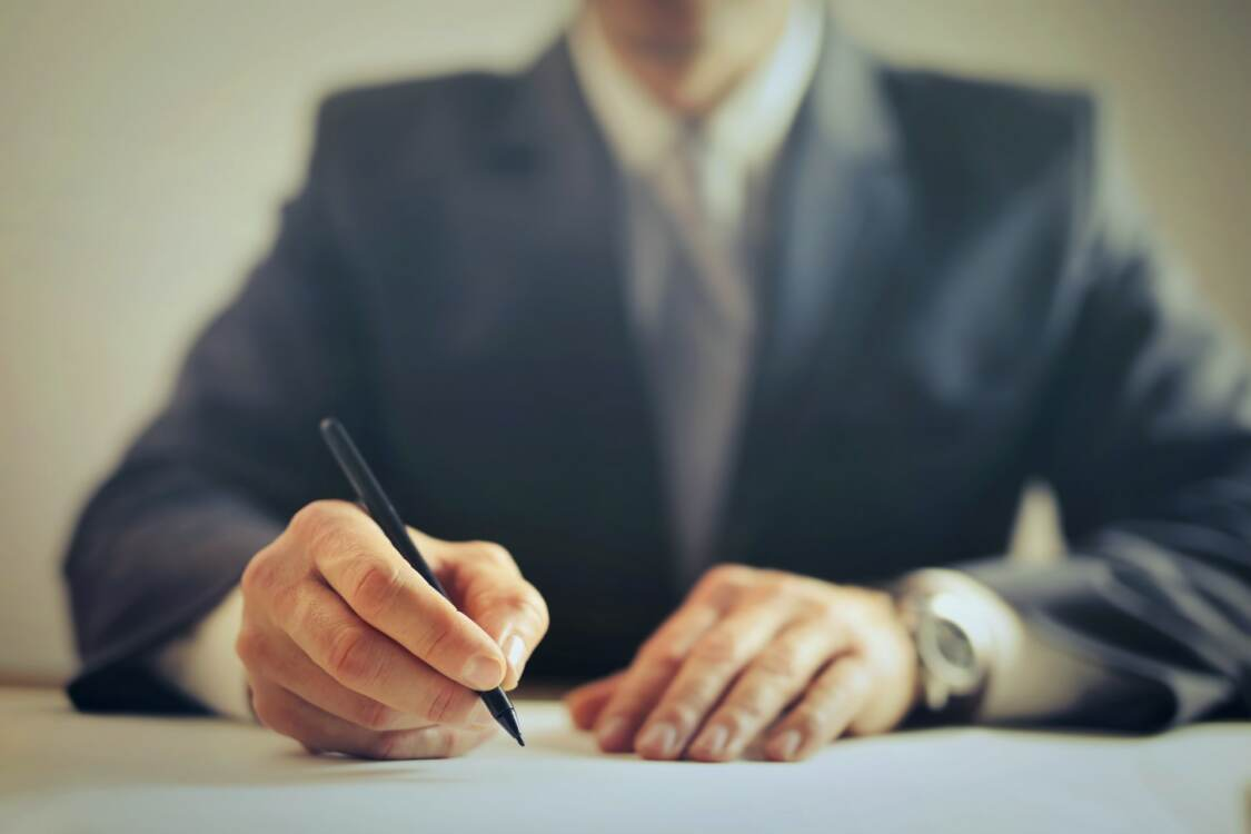 person writing   attorneys in akron ohio